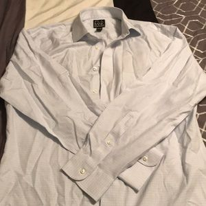 Jos. A. Bank Shirts - Light blue and white button up